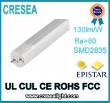 140lm/W PF>0.98 nessun tubo della luce intermittente T8 LED