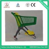 Novo carrinho de compras de plástico puro design