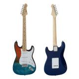 Prix bon marché d'usine de guitare électrique de rue avec le sac de gig de guitare