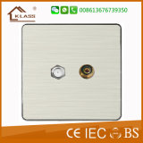 [أوك] معياريّة كهربائيّة جدار مفتاح كهربائيّة مفتاح مقبس تجويف
