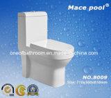 La porcelaine sanitaire une pièce en céramique placard de l'eau de toilette pour salle de bain (8009)