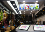 Einseitiger dünner LED-heller Kasten-heller Aluminiumkasten für Kettensystem-Bildschirmanzeigen