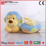 Подушка плюша обезьяны U-Shaped подушки шеи мягкая для малышей младенца