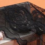 Китай оптовой новейших серый цвет шва ткани Mesh кружевом