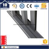 Portello scorrevole di alluminio standard dell'Australia con la vetratura doppia