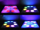 도매 실내 36W LED 꽃 댄스 플로워 단계 빛