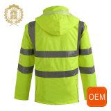Uniformi riflettenti logistiche gialle del lavoro dell'OEM