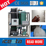 HACCP Cer-anerkannte Eis-Maschinen-Gefäß-Speiseeiszubereitung-Maschine 5t/24hrs