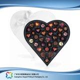 Cadre de empaquetage en forme de coeur de cadeau de Valentine pour le chocolat de sucrerie (XC-fbc-016A)