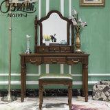 Quarto de alta qualidade do mobiliário de madeira sólida Dresser (como831)