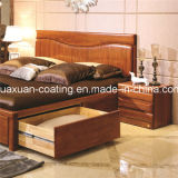 Huaxuan Móveis de madeira Pintura UV Laser Roller Pintura Glossy White Top Coat