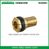 OEM y ODM Enrollar la manguera de latón en el montaje y adaptador de tubería (AV-BF-7034)