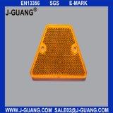 Etiqueta de plástico reflexiva del camino, ojos de gato de los reflectores del camino (JG-02)