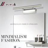 Acero lámpara de luz LED de pared moderna inoxidable espejo de Aseo