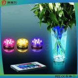 Navidad decorativos impermeable multicolor de control remoto LED lámpara de acuario