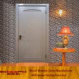 Hecho en el diseño euro de la puerta del MDF del blanco de China (GSP8-033)