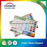 Cartão de cor de revestimento de papel de parede personalizado