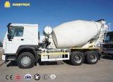 구체 믹서 트럭 6X4 시멘트 믹서 트럭