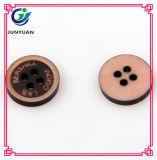 Имитационная деревянная кнопка костюма кнопки смолаы рубашки кнопки
