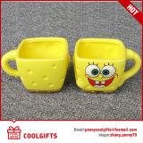 Caneca de café cerâmica de design de personagem de desenho animado promocional (CG217)