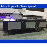 Stampa visiva larga di applicazione 3D della stampante a base piatta UV di colori completi