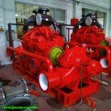 Насос 120L/S 1900usgpm двустороннего всасывания Cummins 450kw 600HP насоса двигателя дизеля борьба с огенм борьба с огенм