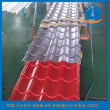 Revêtements ondulés en métal de toit/mur de tôles d'acier de couleur