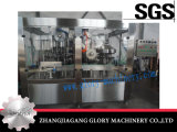 Máquina automática de llenado de leche con sellado de aluminio