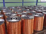 Fio de alumínio folheado de cobre esmaltado da classe 220 (ECCA)