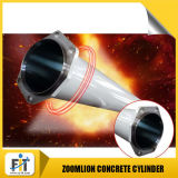 De Concrete Pomp die van Zoomlion Cilinder vervoeren