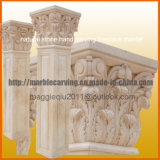 Colonna di marmo della colonna di pietra di Mc1701 dell'interno solido vuoto
