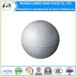 900*6mm de diámetro hemisferio formando fría y caliente la cabeza de fogatas