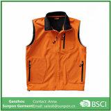 Оранжевый твердых цветов дрсуга куртки куртка