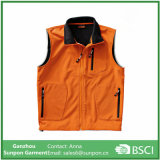 Het oranje Stevige Unisex-Jasje Softshell van Kleuren