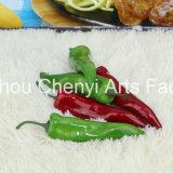 Rosso Verde cinesi Peppers simulato frutta
