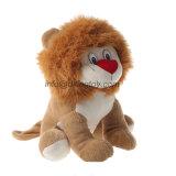 Kundenspezifische Sitzen-angefülltes Tier-Plüsch-Löwe-Spielwaren für Kinder