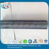 Feuille flexible transparente de PVC de plastique vinyle