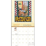 Calendario magnetico promozionale dell'alta energia
