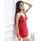 Red / Black Sexy Women Pajamas en gros