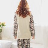 A mola e o verão de 2016 pijamas finos coreanos de maternidade novos quentes do algodão que vestem-se com as mulheres gravidas após o parto do mês do fluxo de leite
