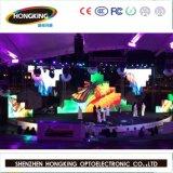 Mur polychrome d'intérieur de vidéo d'écran de l'Afficheur LED P3
