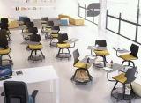 ANSI/BIFMA Novo Design Padrão Mobile por escrito Rotativo Pad Cadeira de treinamento