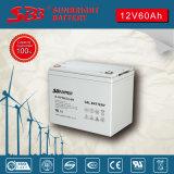 Batería 12V60ah del gel para el sistema del EPS