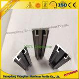 Perfil de alumínio Personalizadas Zhonglian Trilho Lateral de alumínio