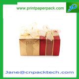 カスタムペーパーボール紙のリボンのパッキング祝祭のギフトの包装ボックス