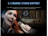 Беспроволочный микрофон Bluetooth для домашнего Karaoke партии KTV напольного с диктором и игроком Karaoke голоса рекордным миниым