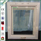 Doppia manovella lustrata Windows del PVC con i ciechi all'interno