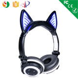 Auscultadores sem fio estereofónico personalizado de Bluetooth do estilo da dobra da cor