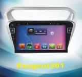 Система Android автомобильной аудиосистемы для Peugeot 301 с автомобильные системы навигации