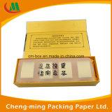 Faltender Pappluxuxpapierkasten für Teebeutel